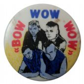 Bow Wow Wow - 'Group Sketch' Button Badge